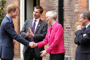 Sue Campbell Prince Harry Hosts Reception for School Games Athletes