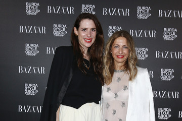 Sue Giers MBFW: Harper's Bazaar Pre-Launch Party