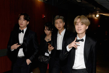 Suga 61st Annual Grammy Awards - Backstage