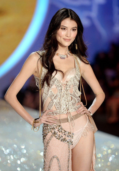 64ccea80087 Sui He Photos Photos - 2013 Victoria s Secret Fashion Show - Show ...