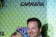 Leven Rambin and Jim Parrack attend the Suicide Squad premiere sponsored by Carrera at Beacon Theatre on August 1, 2016 in New York City.