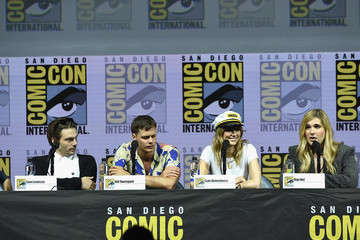 Suki Waterhouse Hari Nef Comic-Con International 2018 - 'Assassination Nation' Panel With Cast And The Russo Brothers