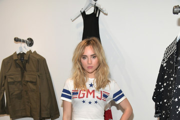 Suki Waterhouse Volcom and Georgia May Jagger Celebrate the Premiere Collection Launch of Volcom x GMJ