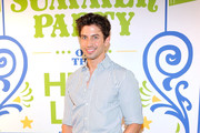 Nick Adams attends Summer Party on The Highline, presented by Coach at High Line Park on June 11, 2013 in New York City.