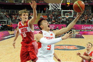 Sun Yue Olympics Day 4 - Basketball