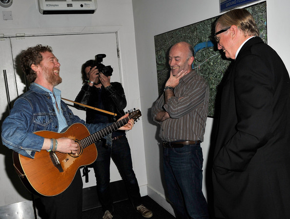 Sundance London - Backstage At An Evening With Robert Redford And T Bone Burnett At Indig02