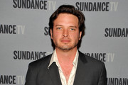Actor Aden Young attends SundanceTV's presentation of Panel Discussions featuring creators and stars of 'Rectify' and 'The Honorable Woman' on May 16, 2015 in Los Angeles, California.