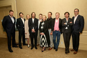 (L-R) Executive Director, SundanceTV, Jan Diedrichsen, actors Luke Kirby, Adelaide Clemens, Creator/executive producer/writer/director Ray McKinnon, actors Jake Austin Walker, J. Smith-Cameron, Clayne Crawford, Bruce McKinnon, Aden Young and President & General Manager, AMC Networks, Charlie Collier attend the 'Rectify' panel discussion at the SundanceTV portion of the 2016 Television Critics Association Summer Tour at The Beverly Hilton Hotel on July 31, 2016 in Beverly Hills, California.