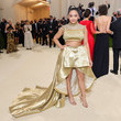 Sunisa Lee The 2021 Met Gala Celebrating In America: A Lexicon Of Fashion - Arrivals
