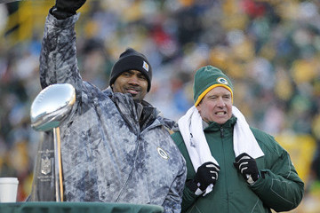 Dom Capers Super Bowl XLV Champions Green Bay Packers Victory Parade