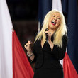 Xtina Flubs the National Anthem at the Super Bowl