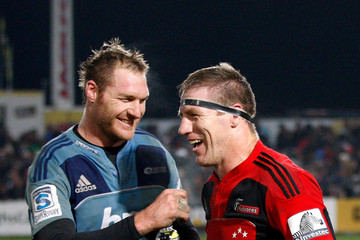 Ali Williams Brad Thorn Super Rugby Rd 17 - Crusaders v Blues