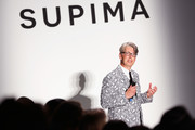 VP of marketing and promotions at Supima Buxton Midyette attends Supima Design Competition SS18 runway show during New York Fashion Week at Pier 59 on September 7, 2017 in New York City.