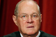 Associate Justice Anthony M. Kennedy poses during a group photograph at the Supreme Court building on September 29, 2009 in Washington, DC. The high court made a group photograph with its newest member Associate Justice Sonia Sotomayor.
