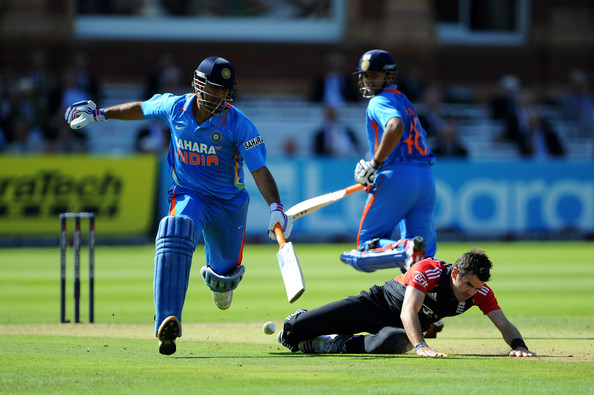 Suresh Raina Pictures - England v India - 4th Natwest One ...
