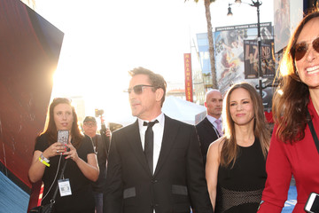Susan Downey The World Premiere of Marvel's 'Captain America: Civil War' - Red Carpet