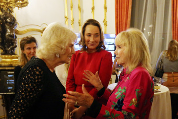 Susan Hampshire The Duchess of Cornwall Attends the Bruce Oldfield Fashion Show in Aid of the National Osteoporosis Society