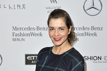 Susan Hoecke Hien Le Celebrities - Mercedes-Benz Fashion Week Berlin A/W 2017