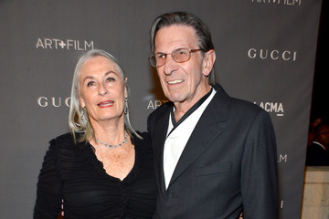 Susan Nimoy LACMA 2012 Art + Film Gala Honoring Ed Ruscha And Stanley Kubrick Presented By Gucci - Red Carpet