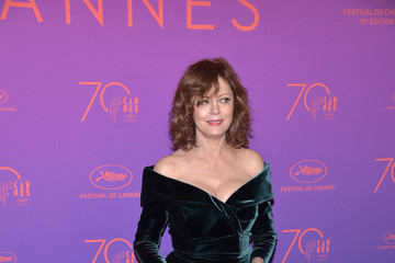 Susan Sarandon Opening Gala Dinner Arrivals - The 70th Annual Cannes Film Festival