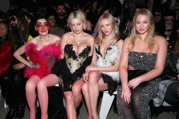 Susanne Bartsch The Blonds - Front Row - February 2018 - New York Fashion Week: The Shows