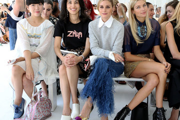 Susie Bubble Delpozo - Front Row - September 2016 - New York Fashion Week
