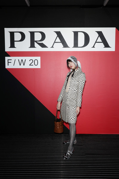 Prada Fall/Winter 2020/2021 Womenswear Fashion Show – Arrivals and Front Row