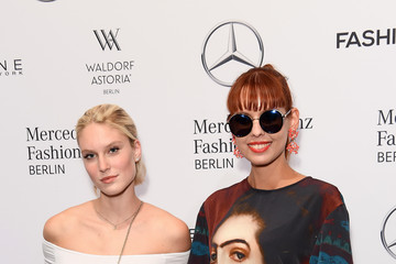 Sussan Zeck Rebekka Ruetz Arrivals - Mercedes-Benz Fashion Week Berlin Spring/Summer 2018