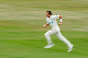 Dominic Cork of Hampshire in action during the second day of the LV County Championship Division One match between Sussex and Hampshire at the PROBIZ County Ground on July 12, 2011 in Hove, England.