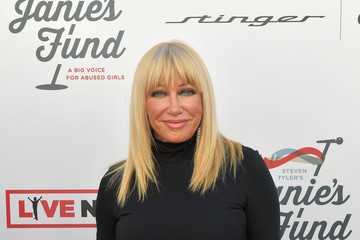 Suzanne Somers Steven Tyler And Live Nation Presents Inaugural Gala Benefitting Janie's Fund - Arrivals