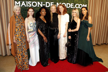Suzy Amis MAISON-DE-MODE Celebrates Sustainable Style By Honoring Suzy Amis Cameron Of Red Carpet Green Dress - Arrivals