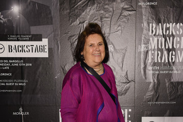 Suzy Menkes MONCLER FRAGMENT Florence - Guests