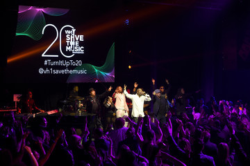 Sway Calloway VH1 Save the Music 20th Anniversary Gala - Inside