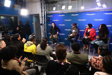 Sway Calloway Heather B G-Eazy Discusses 'The Beautiful & Damned' During an Album Premiere Special on SiriusXM's Shade 45 Channel
