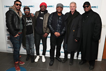 Sway Calloway Sting and Shaggy on SiriusXM's The Joint Channel