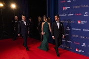 Prince Daniel of Sweden, Princess Sofia of Sweden, and Prince Carl Philip of Sweden arrive on the red carpet before Idrottsgalan, the annual Swedish Sports Gala, at the Ericsson Globe Arena on January 27, 2020 in Stockholm, Sweden.