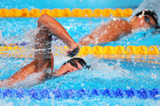 Pieter Timmers of Belgium competes during the Swimming Men's 200m Freestyle Semifinal 1 on day ten of the 15th FINA World Championships at Palau Sant Jordi on July 29, 2013 in Barcelona, Spain.