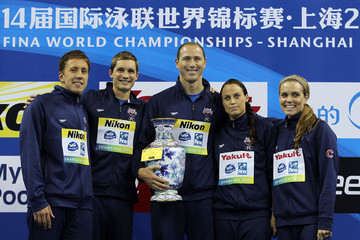 Amanda Beard Swimming Day Sixteen - 14th FINA World Championships