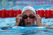 Rebecca Soni of United States competes in the Women's 100m Breaststroke Semi-Final during the 13th FINA World Championships at the Stadio del Nuoto on July 27, 2009 in Rome, Italy.