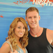"""Vienna Girardi Swimming With Sharks Pool Party In Celebration Of """"Shark Night 3D"""""""