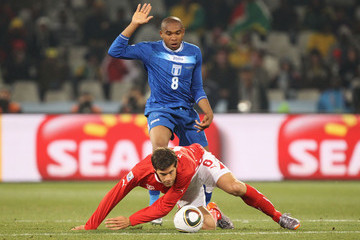 Benjamin Huggel Switzerland v Honduras: Group H - 2010 FIFA World Cup