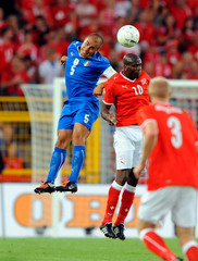 Nfuko Blaise Switzerland vs Italy