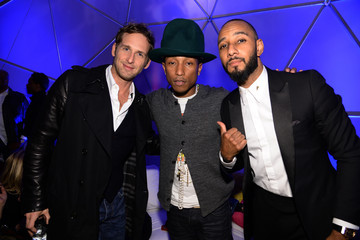 Swizz Beatz Pharrell Williams Celebrates 41st Birthday With SpongeBob SquarePants Themed Party - Inside