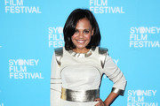 Miranda Tapsell arrives at the Sydney Film Festival Closing Night Gala at the State Theatre on June 15, 2014 in Sydney, Australia.