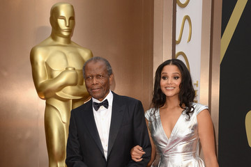 Sydney Poitier Arrivals at the 86th Annual Academy Awards — Part 14
