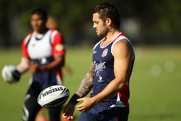 Daniel Conn Sydney Roosters Training Session