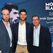 Sylvain Costof Montblanc Launches Novak Djokovic Special Edition Writing Instrument