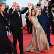 """Sylvain Marcel """"Aline, The Voice Of Love"""" Red Carpet - The 74th Annual Cannes Film Festival"""