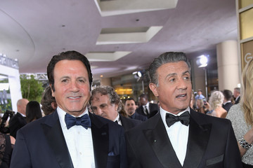Sylvester Stallone FIJI Water at the 74th Annual Golden Globe Awards