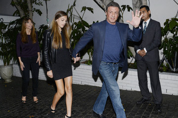 Sylvester Stallone Vanity Fair Campaign Hollywood Annie Leibovitz Book Launch Sponsored By Leon Max - Arrivals